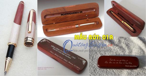 Bút gỗ khắc tên tại Hà Đông, Hà Nội