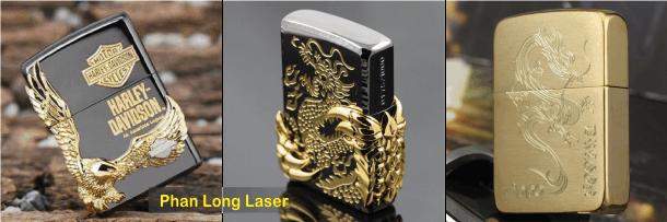 Bật lửa zippo khắc laser theo yêu cầu giá rẻ tại Cần Thơ