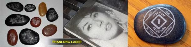 Khắc laser trên thủy tinh đá quý tại Gò Vấp, Phú Nhuận, Thủ đức